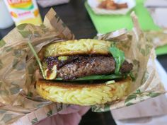 The original Ramen Burger in New York, NY as featured at the 2nd Annual NY Burger Feast - Monday May 1st, 2015-  The NY Burger Feast returns to Hudson Common at the Hudson Hotel on Friday, May 1st featuring 7 of the Very Best Burgers in New York City:   The Ainsworth Black Iron Burger Genuine Roadside Hard Times Sundaes Heartland Brewery Hudson Common Ramen Burger  You'll get to sample all of them, multiple times if you like! There will also be local craft brews from Kelso Beer and music…