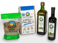 Whether you're preparing breakfast, lunch, dinner, or dessert, you want quality in the mix. It's here, from gluten-free pancake and cookie mixes to organic olive oil and vinegar.