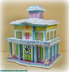 Candy Glitter Putz Mistletoe Manor SVGcuts.