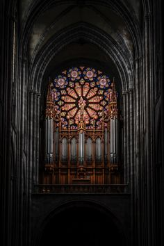 How Notre Dame's Stone Architecture Saved It From Collapse Gothic stone architecture and stained glass window in Notre Dame Cathedral Ancient Greek Architecture, Church Architecture, Chinese Architecture, Futuristic Architecture, Beautiful Architecture, Historic Architecture, Architecture Board, Architecture Romane, Gothic Buildings