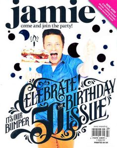 Jamie!  50 issues of food Delicious Jamie Oliver