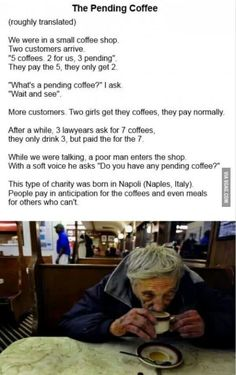 Faith in humanity is repaired.