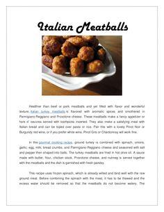 italian-meatballs by Arya McLean via Slideshare