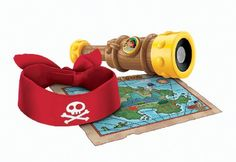 If you spy Captain Hook shout Ahoy! Now you can help Jake keep an eye on Captain Hook at all times using JAKE'S TALKING SPY GLASS. Press the Jake button to hear Jake and Hook saying their sig...