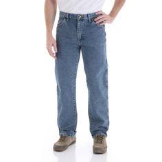 Wrangler Men's Regular Fit Jeans, Size: 40 x 32, Blue