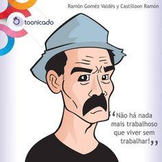 Tinha que ser!  Hoje seria aniversário do saudoso Ramón Goméz Valdés y Castillo, também conhecido como Seu Madruga.  Essa é nossa homenagem pro gentalha!  Não perca nosso post sobre ele: http://tooni.blog.br/aniversario-ramon-gomez-valdes-y-castillo/  #SeuMadruga #Chaves #DonRamon #RamonValdes #Gentalha