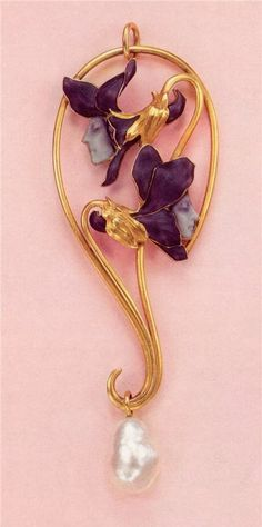 Art Nouveau artists - Lalique Jewelry. Pendants ~ Blog of an Art Admirer