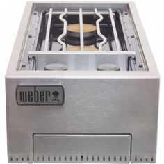 Weber 83004 Summit Built-In Ng Side Burner, 2015 Amazon Top Rated Built-In Grills #Lawn&Patio