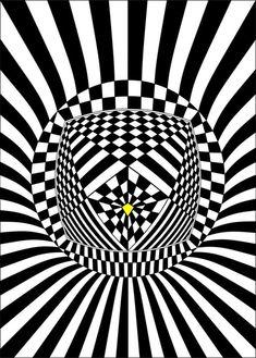 Pôster Bindú-Abstração geométrica sobre o Ponto Bindú. BINDÚ significa Gota ou Marca. O Bindú pode ser interpretado como néctar, essência, a sede da unidade, a centelha divina que se separou de sua origem, a voz interna, o intocado ou portal do Brama, é uma ligação entre o chakra coronário e o chakra básico. É o fio que liga o cérebro a medula e os órgãos sexuais, passando pelos Chakras ligados à coluna vertebral. É neste ponto que armazenamos a inteligência espiritual.