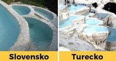 "Santovka: Slovenské ""rímske kúpele"", ktorých travertínové terasovité bazény pripomínajú turecké Pamukkale | interez.sk Pamukkale, Outdoor, Outdoors, Outdoor Games, The Great Outdoors"