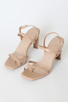 Give your outfit the final finishing touch that it deserves with the Emmalee Sand Strappy High Heel Sandals! Strappy Sandals Outfit, Gold Strappy Heels, Shoes Sandals, Sandal Heels, Sweet 16 Outfits, Girly Outfits, Block Sandals, Block Heels, Strap Heels