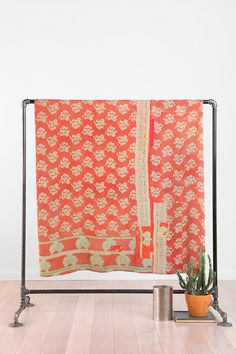 One-Of-A-Kind Kantha Quilt