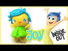 Kawaii Joy Disney Inside Out polymer clay charm tutorial