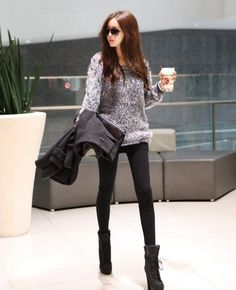 Women Long Sleeve Knits Sweater Loose Shirt Blouse Tops New