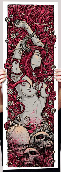 Cool Art: 'Demonseed' by Godmachine oh my god I love this. Exactly what I want for my half sleeve