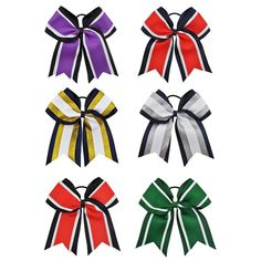 8 Inch Grils Cheerleading Hair Bows With Elastic Bands Navy Grosgrain Cheer Bows With Gold Silver Organza Hair Accessories Big Cheer Bows, Cheerleading Hair Bows, Girl Hair Bows, Girls Bows, 6 Year Old Christmas Gifts, Elastic Hair Bands, Ponytail Holders, Girls Hair Accessories, Ribbon Bows