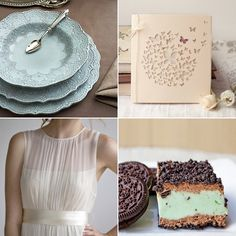 via lace and tea. color palette inspiration.