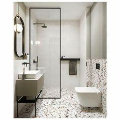 [eng👇🏻]Miałam to szc White Bathroom Tiles, Bathroom Faucets, Small Bathroom, Bad Inspiration, Bathroom Inspiration, Modern Bathroom Design, Bathroom Interior Design, Bathroom Renovations, Home Remodeling