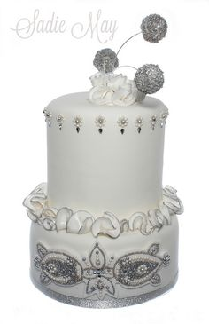 unique Wedding Cakes with Bling | Recent Photos The Commons Getty Collection Galleries World Map App ...