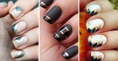 20 diseños de uñas glam para un 2016 superelegante