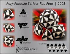 Eva Maria Keiser Designs: Tutorials: Poly-Palooza Series - Fab Four | 200... Follow link for tutorial: http://keiserdesigns.blogspot.com/2014/06/tutorials-poly-palooza-series-fab-four.html