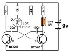 """a transformer) increasing the supply to a higher voltage to illuminate one or two LEDs in series. The """"LED Simple Electronics, Hobby Electronics, Electronics Projects, Dc Circuit, Circuit Design, Electronic Circuit Projects, Electronic Engineering, Electrical Circuit Diagram, Solar Battery Charger"""