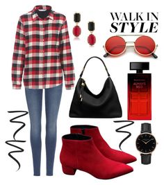 """""""Chelsea Boot Contest"""" by ghostgypsy on Polyvore featuring 7 For All Mankind, Woolrich, Michael Kors, Topshop, 1st & Gorgeous by Carolee, ZeroUV, Elizabeth Arden and Eyeko"""