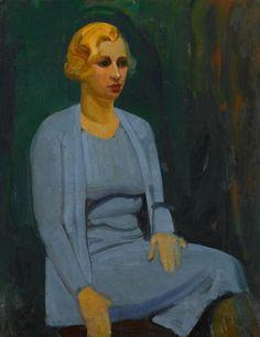 George Benjamin Luks - Society lady
