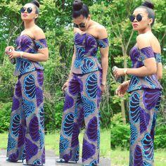 Must Have Trendy Ankara Styles For Ladies in 2017 - Wedding Digest Naija African Print Dresses, African Wear, African Attire, African Fashion Dresses, African Women, African Dress, African Prints, African American Fashion, African Print Fashion