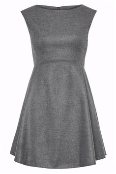 Wildfire Dress in Grey Melange by French Connection (to be paired with a bright colored cardi or jacket, matching heels).