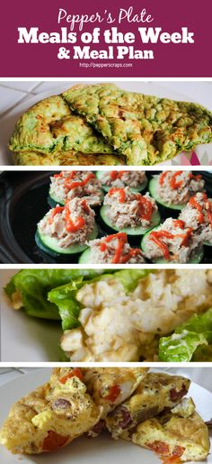Pepper's Plate | Meals of the Week & Meal Plan | Feb 22nd