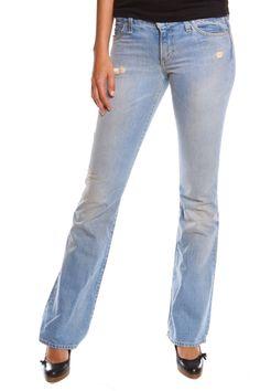 Paper Demin Cloth Boot Cut Jeans