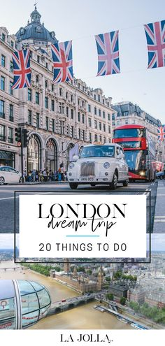 My dream trip to London is based on reliving favorite moments from two years spent living there. In no particular order, these are some of the many things I would love to do on a holiday there. Day Trips From London, Things To Do In London, London Dreams, Travel Through Europe, London Christmas, Cities In Europe, Beautiful Castles, La Jolla, London Travel