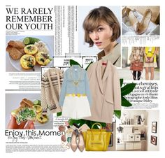 """""""our youth ..."""" by missoumiss ❤ liked on Polyvore featuring Bela, HUGO, Toast, rag & bone/JEAN, Moschino Cheap & Chic, Stella & Dot, Ted Baker, MANGO, CÉLINE and Quay"""