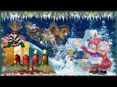 Herzliche Grüße und einen schönen 4.Advent…#6 - YouTube Christmas, Gifts, Painting, Vintage, Gaudi, Sink Tops, Messages, Pictures, Ornaments