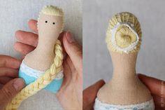 Muñeca de trapo: Peinados para muñecas Tilda1 - pap