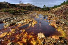 minas de riotinto en andalucia