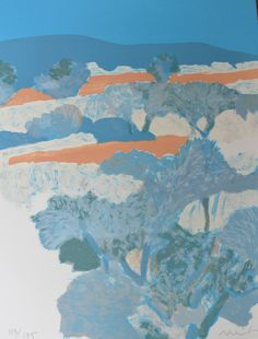 Roger Mühl (German, 1929-2008) Provence VIII, 1986 Lithographie, 41 x 31 cm