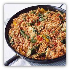 Jollof rice is national food (dish) of Nigeria