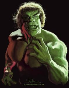 digital caricature of Lou Ferrigno Drawing Cartoon Characters, Character Drawing, Cartoon Drawings, Cartoon Art, Funny Caricatures, Celebrity Caricatures, Funny Toons, Hulk Art, Red Hulk