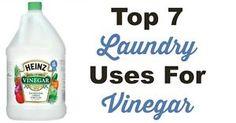 Top 7 Laundry Uses For Vinegar