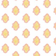 Double Blossom Pink Lemonade fabric by frocklove on Spoonflower - custom fabric