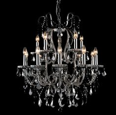 Glamorous Beaded Chandelier – Allissias Attic & Vintage French Style