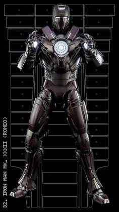 Iron Man mark XXXII (Romeo)