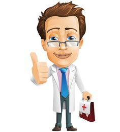 Male doctor vector character holding a medical case in his hand. He looks quite dedicated to his job and he will definitely help you with your medical issue. Trust this tidy doctor and use him on any project related to medicine and healthcare. Check our vector character and download it for free. Continue reading →