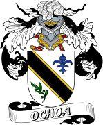De Ochoa Spanish Coat Of Arms www.4crests.com #coatofarms #familycrest #familycrests #coatsofarms #heraldry #family #genealogy #familyreunion #names #history #medieval #codeofarms #familyshield #shield #crest #clan #badge #tattoo #crests #reunion #surname #genealogy #spain #spanish #shield #code #coat #of #arms