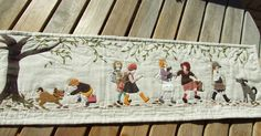 Applique, Creations, Textiles, Quilts, Embroidery, Sewing, Table Runners, Fabric, Stitches