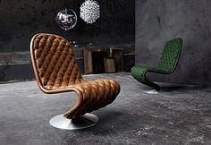 Verpan  Lounge Chair de Luxe