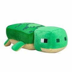 Minecraft Baby, Minecraft Video Games, Minecraft Bedroom, Minecraft Pillow, Mojang Minecraft, Turtle Plush, Minecraft Characters, Cute Stuffed Animals, Beanie Boos