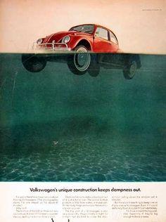 vintage everyday: Evolution of Volkswagen Ads From 1960